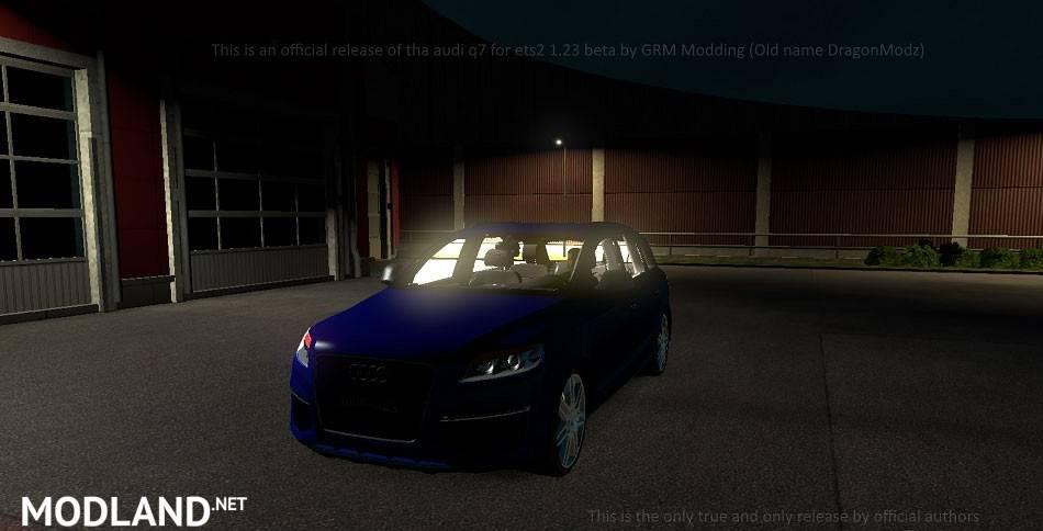 Audi Q7 v 1 1 mod for ETS 2