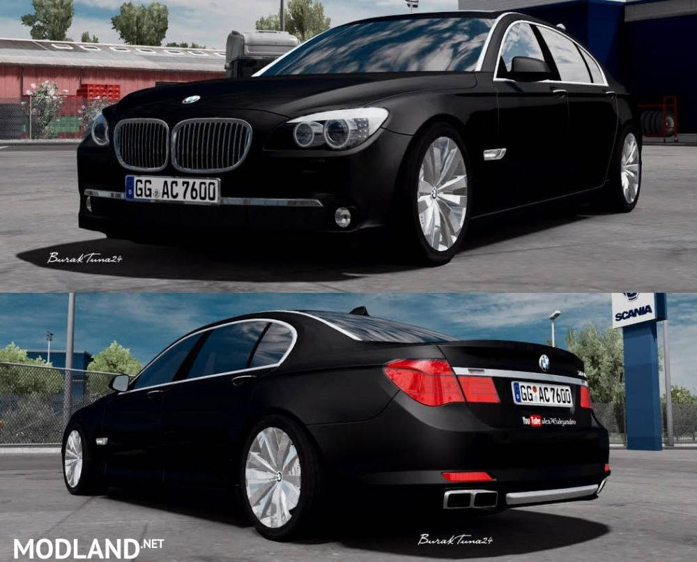 BMW 760Lİ V12 F01 1 31 Fix mod for ETS 2