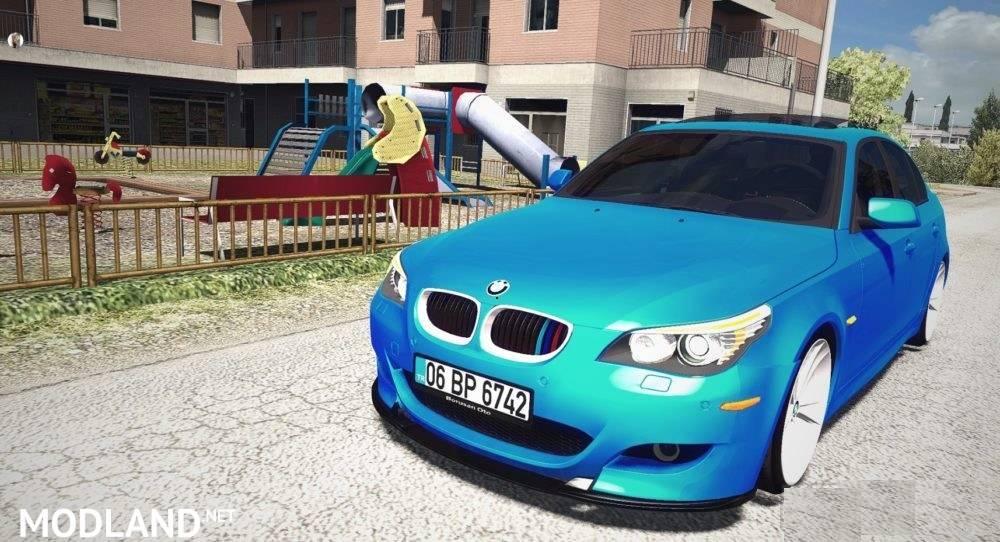 BMW M5 E60 v 1 2 1 35 mod for ETS 2