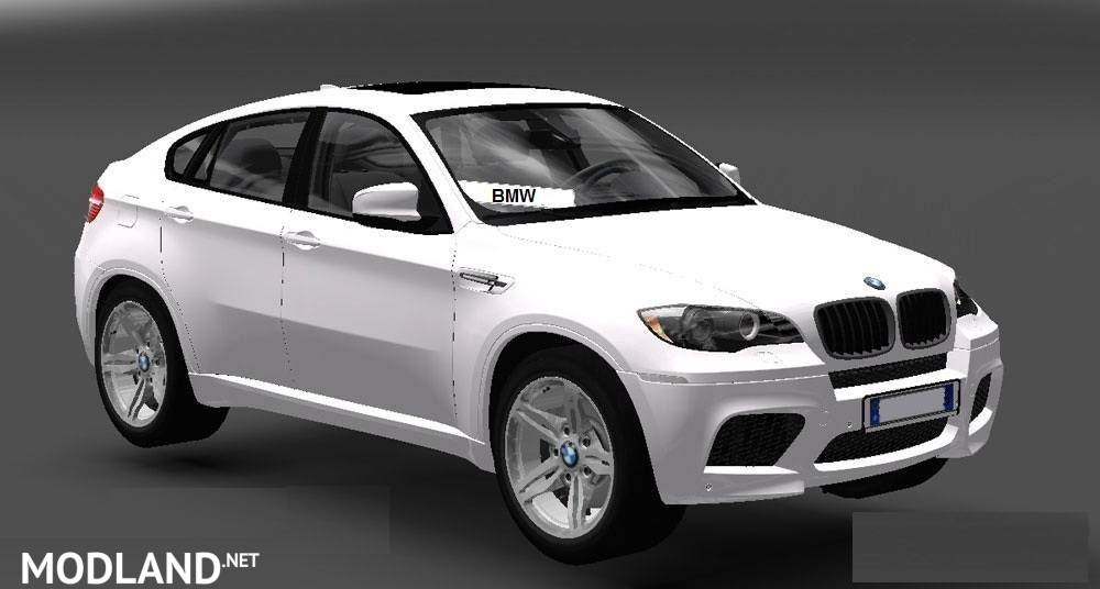 Bmw X6 New Version For 1 24 Mod For Ets 2