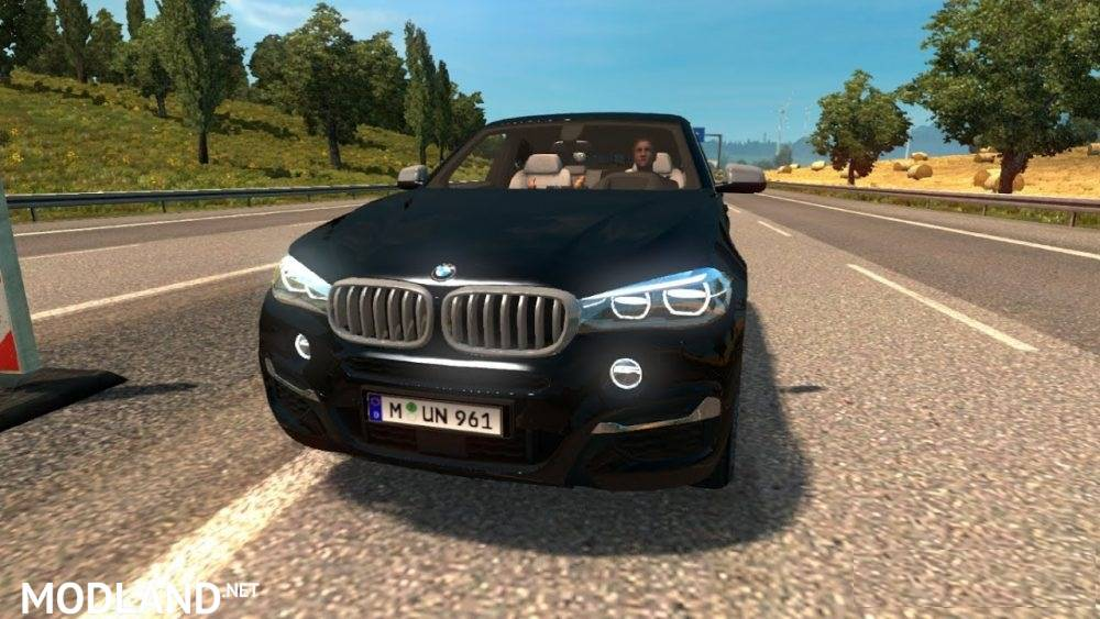 bmw x6 m new reworked version mod for ets 2. Black Bedroom Furniture Sets. Home Design Ideas