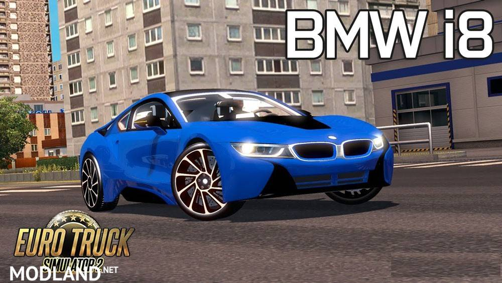 Bmw I8 V3 1 25 Mod For Ets 2
