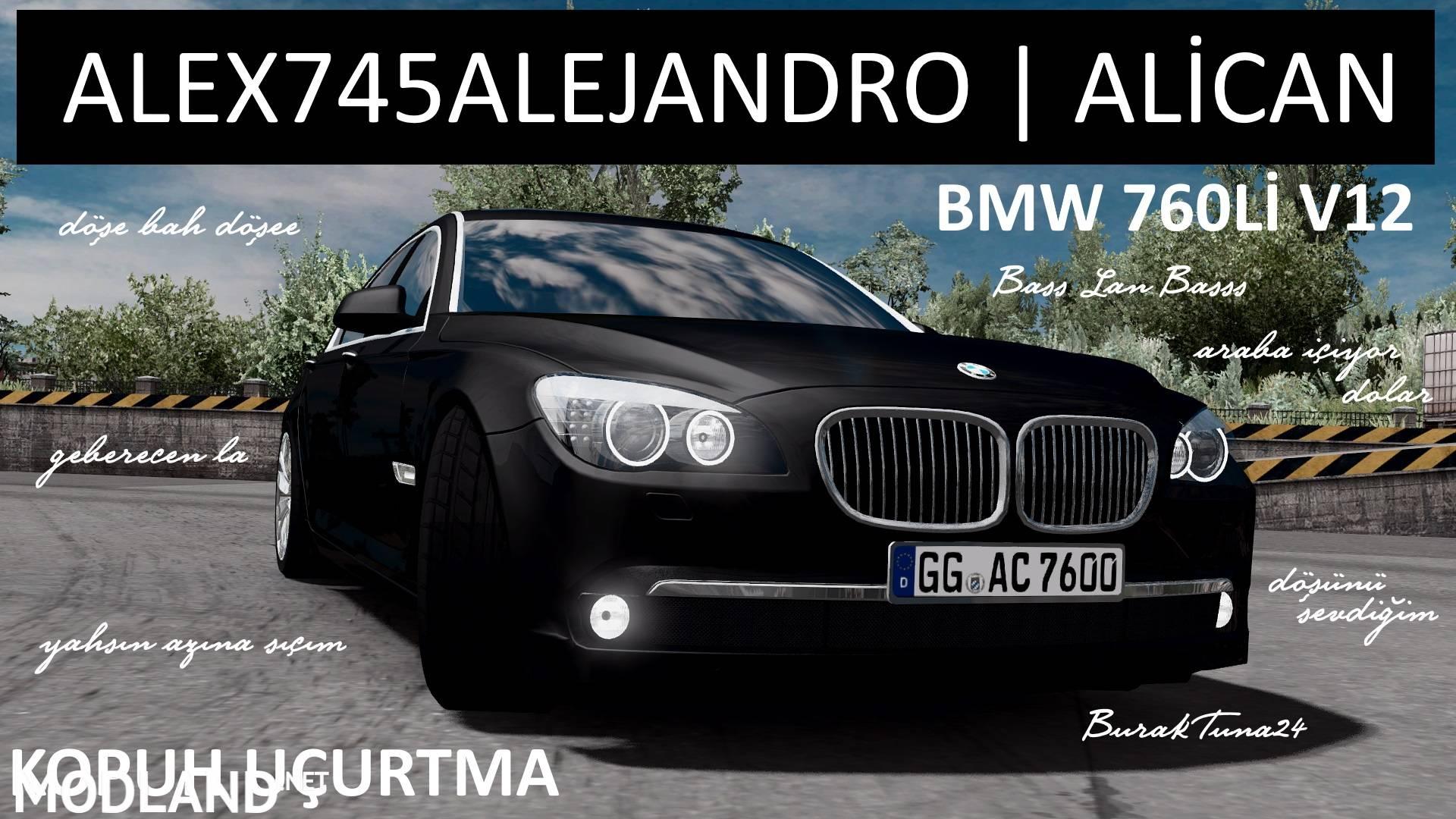Ets2 Bmw 760li V12 Alex745alejandro Mod For Ets 2