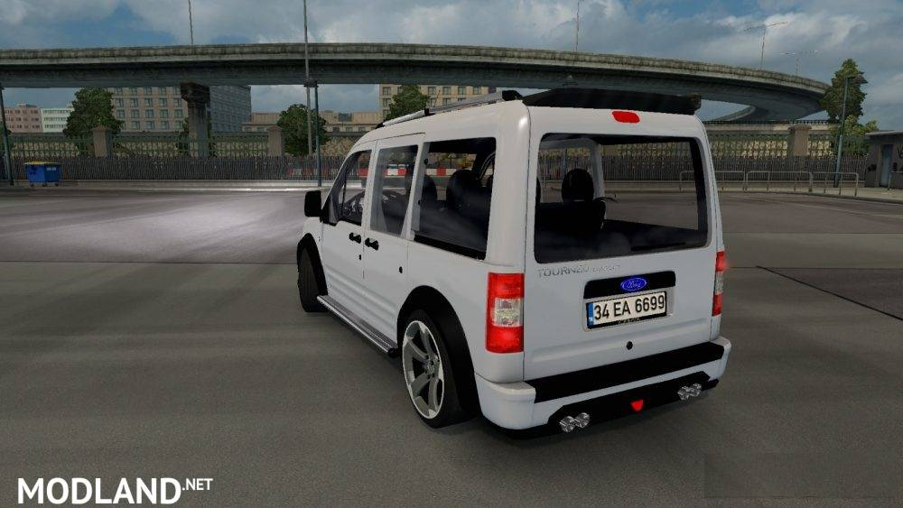 Ford Tourneo Connect Mod For Ets 2