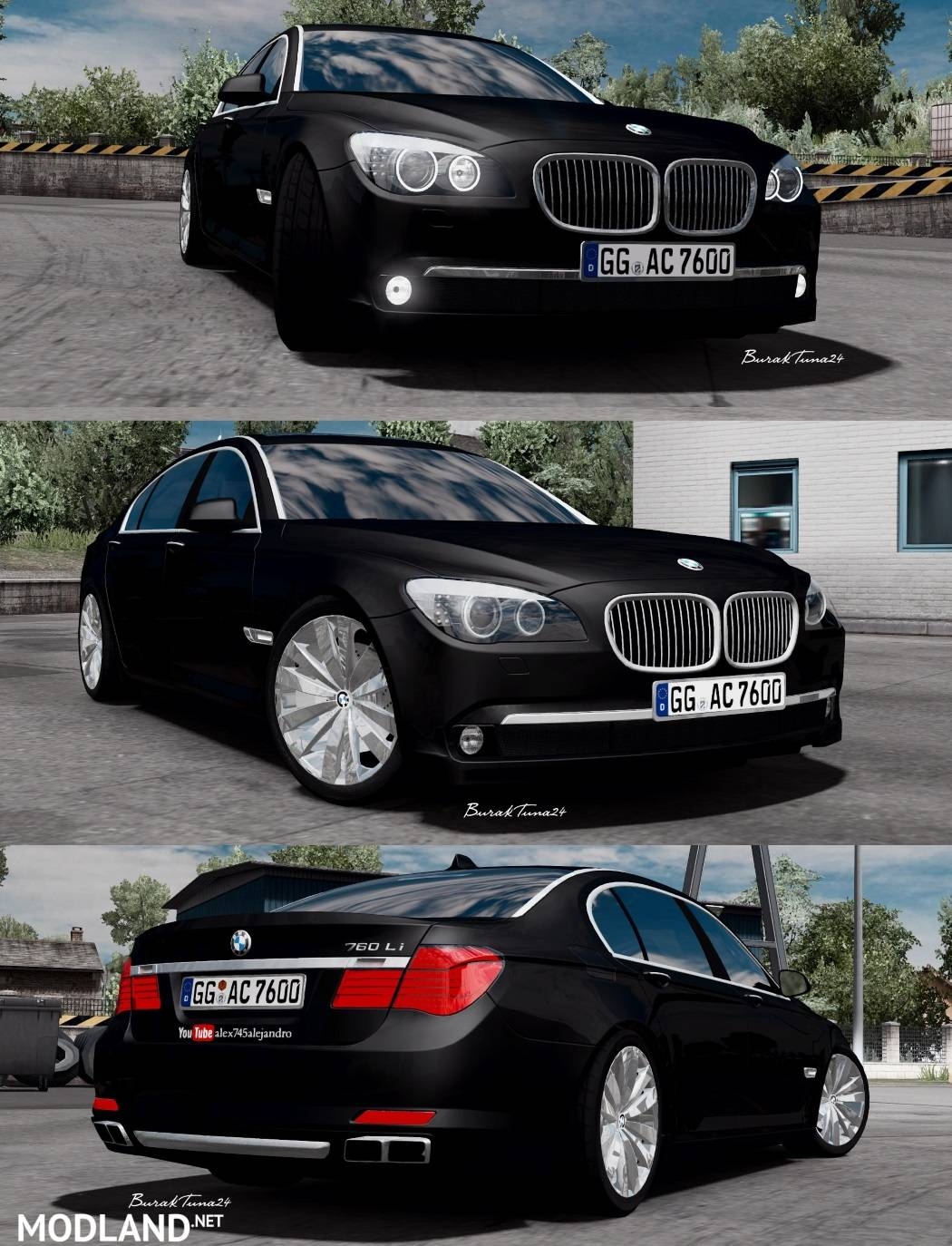 ETS2 Bmw 760li V12 Alex745alejandro 1 Photo