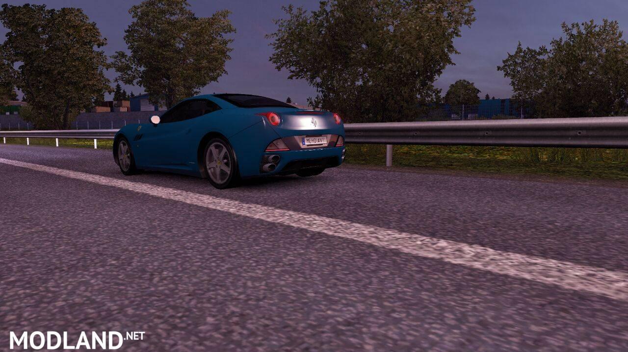Ferrari California Mod For Ets 2