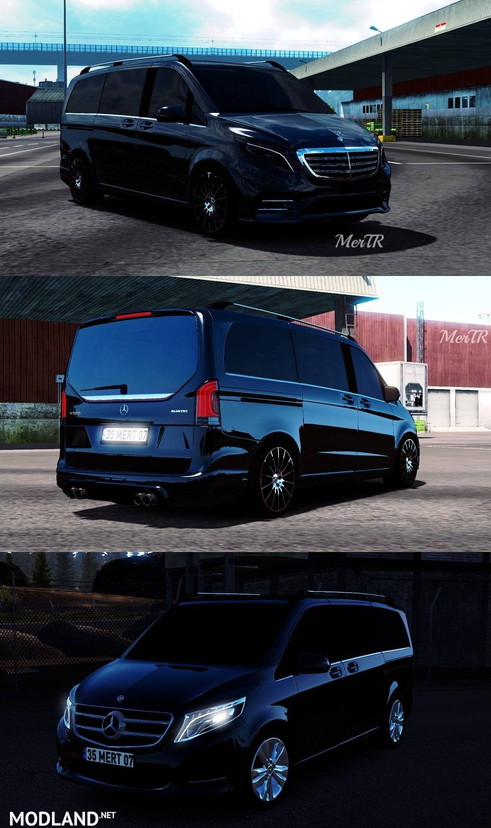 mercedes benz vito v class 2018 mod for ets 2