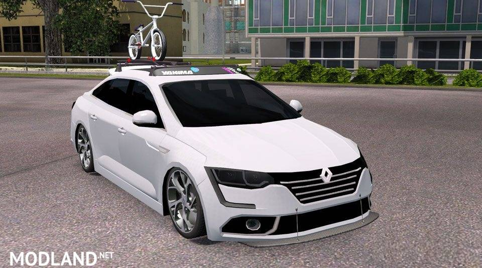renault talisman 2017 mod for ets 2. Black Bedroom Furniture Sets. Home Design Ideas