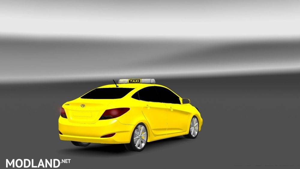 Hyundai Accent Blue Araba Modu mod for ETS 2