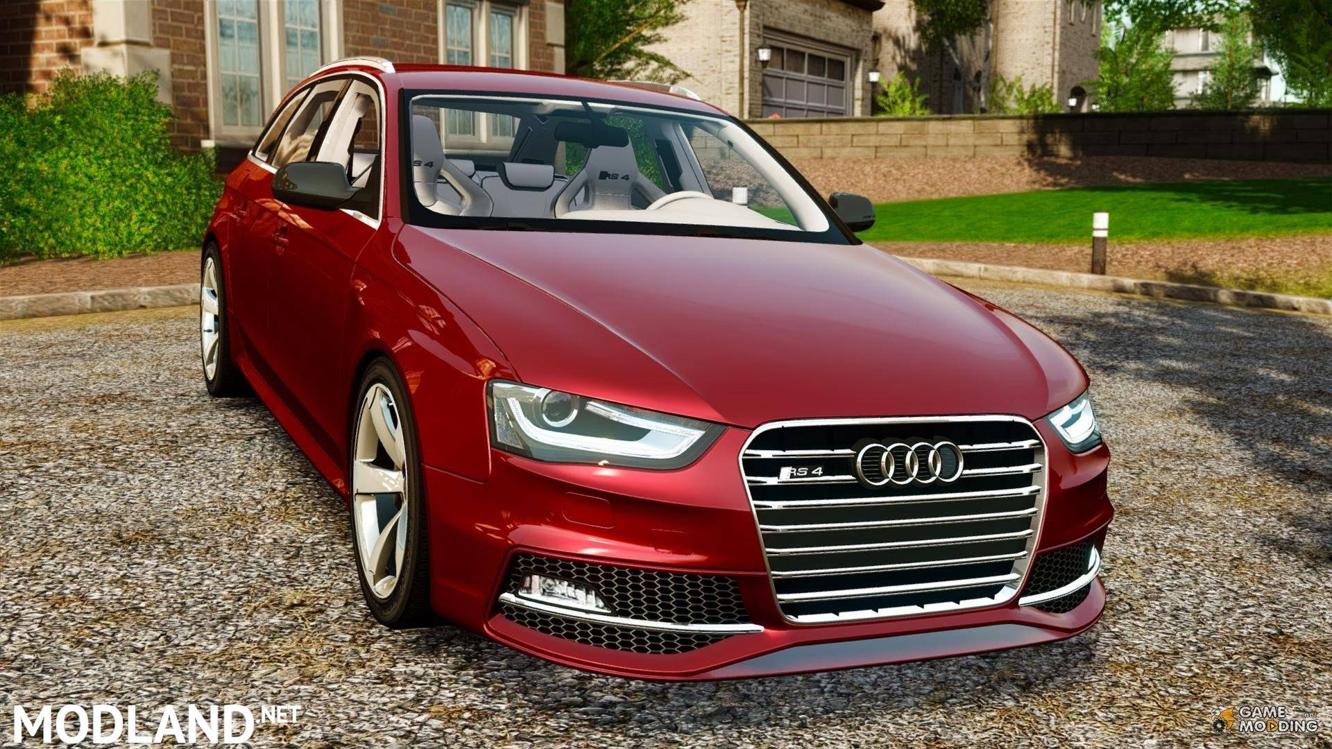 دانلود مود Audi RS4 برای euro-truck-simulator-2