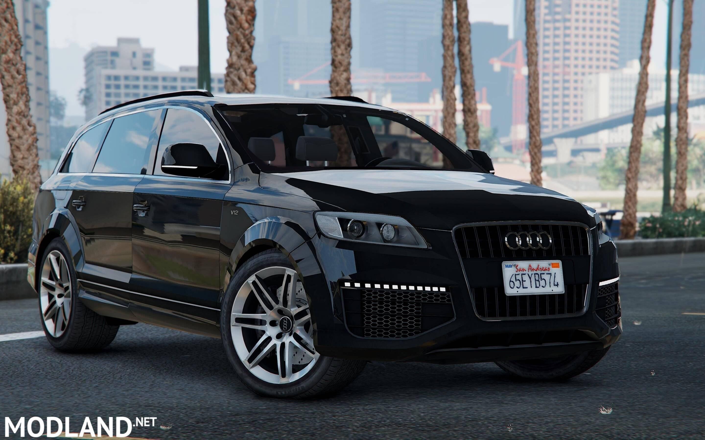 Audi Q Mod For ETS - Audi q 745 car