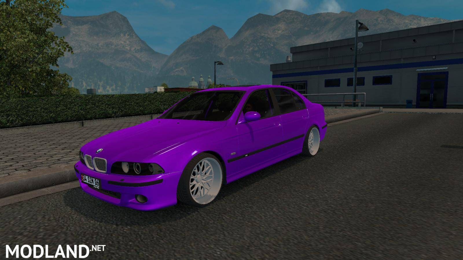 bmw 540i e39 m5 mod for ets 2. Black Bedroom Furniture Sets. Home Design Ideas