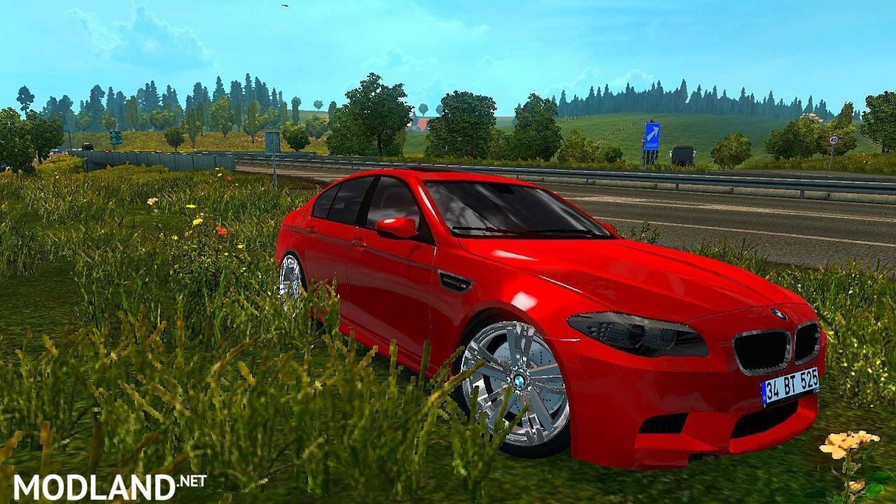 BMW M5 E60 & 520D V2 mod for ETS 2