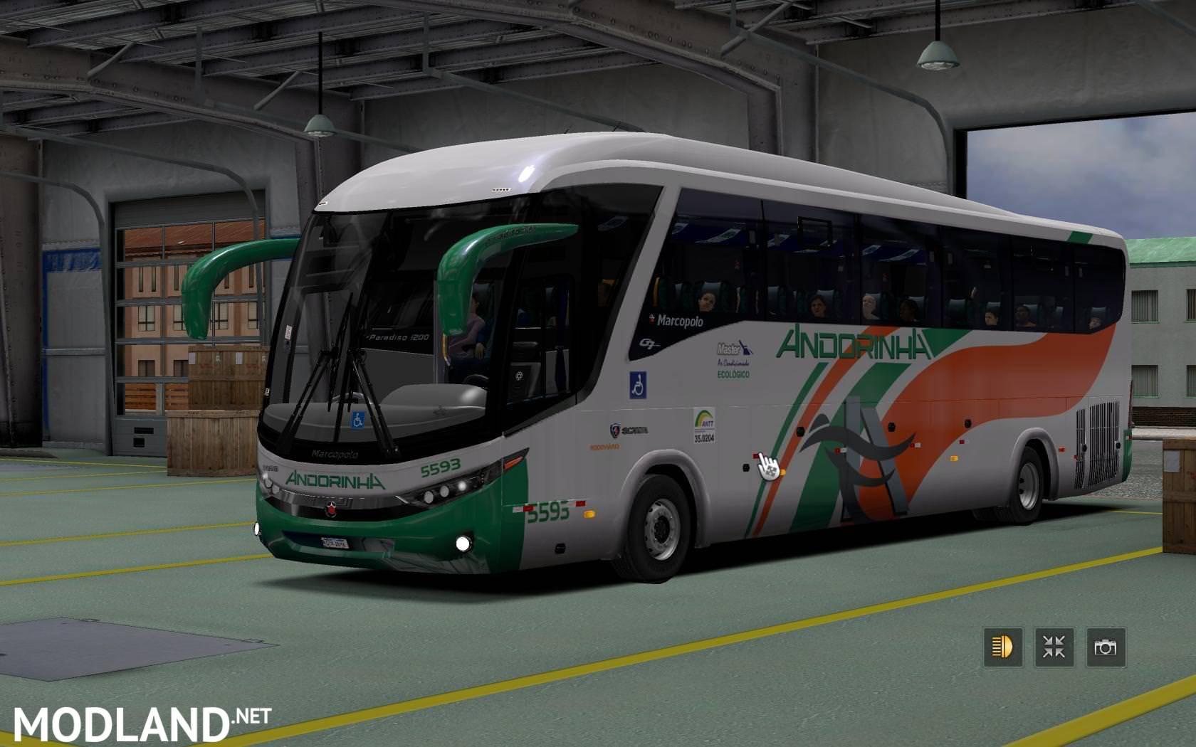 Bus Marcopolo G7 1200 V3 5 V1 31 X Ets 2