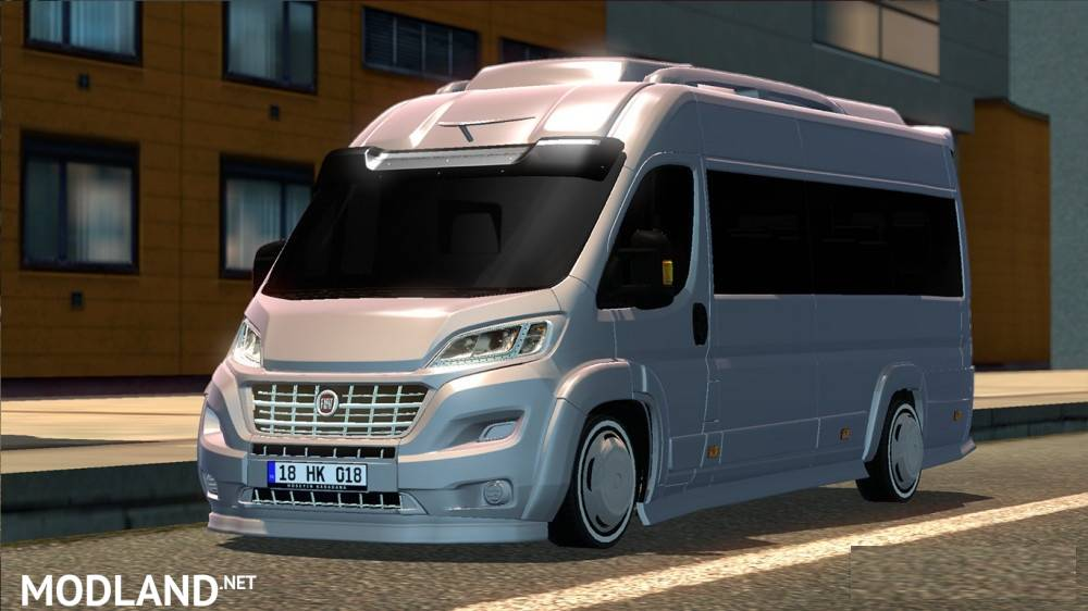 fiat ducato mod for ets 2. Black Bedroom Furniture Sets. Home Design Ideas