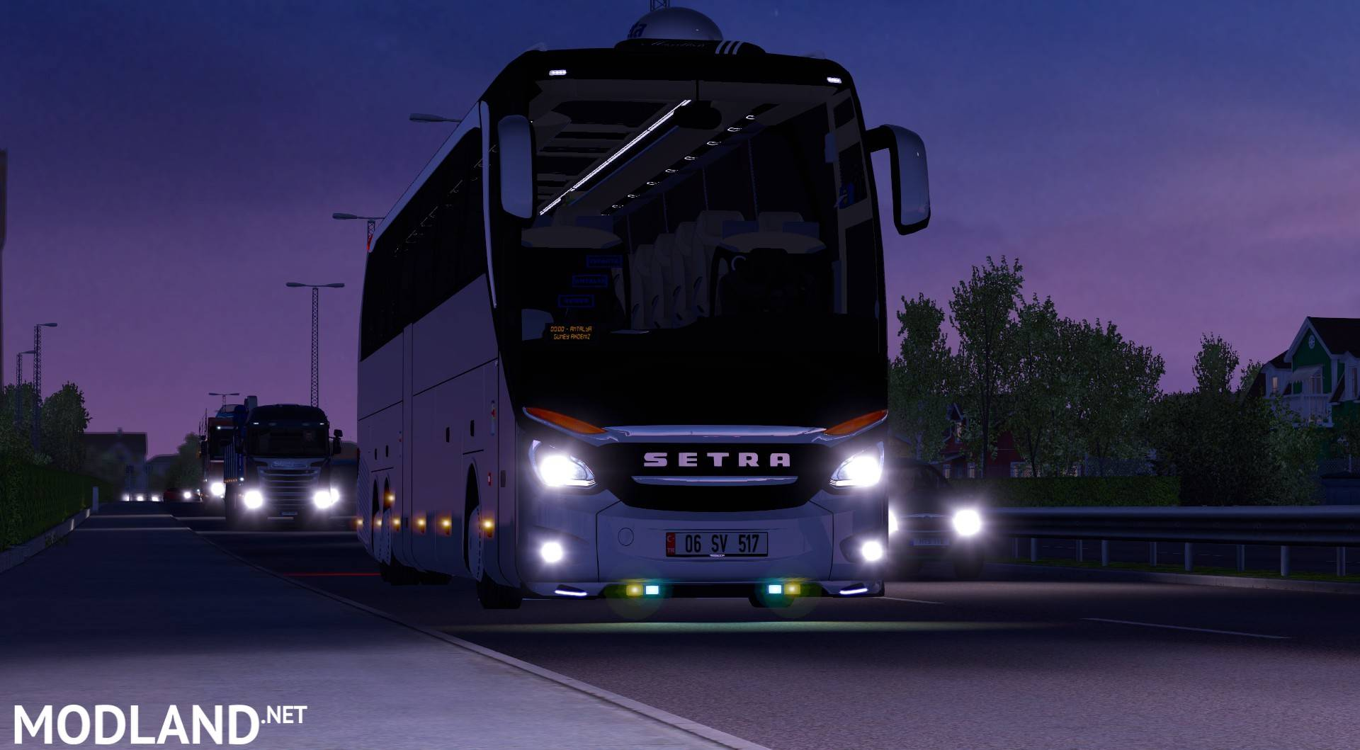 Setra 517 Bus Hdh 2017 For Ets2 1 27 Mod For Ets 2