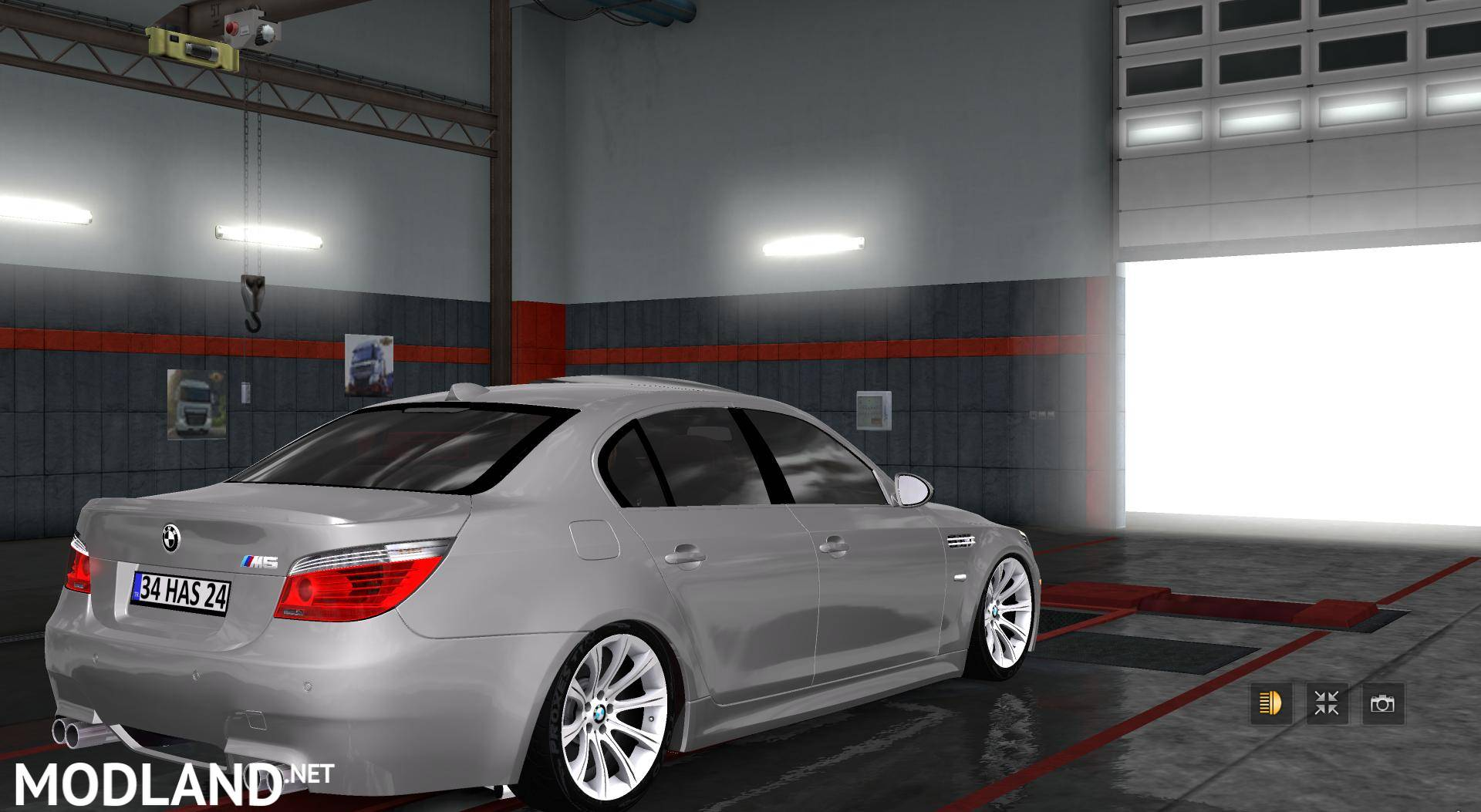 bmw m5 e60 v2 0 mod for ets 2. Black Bedroom Furniture Sets. Home Design Ideas
