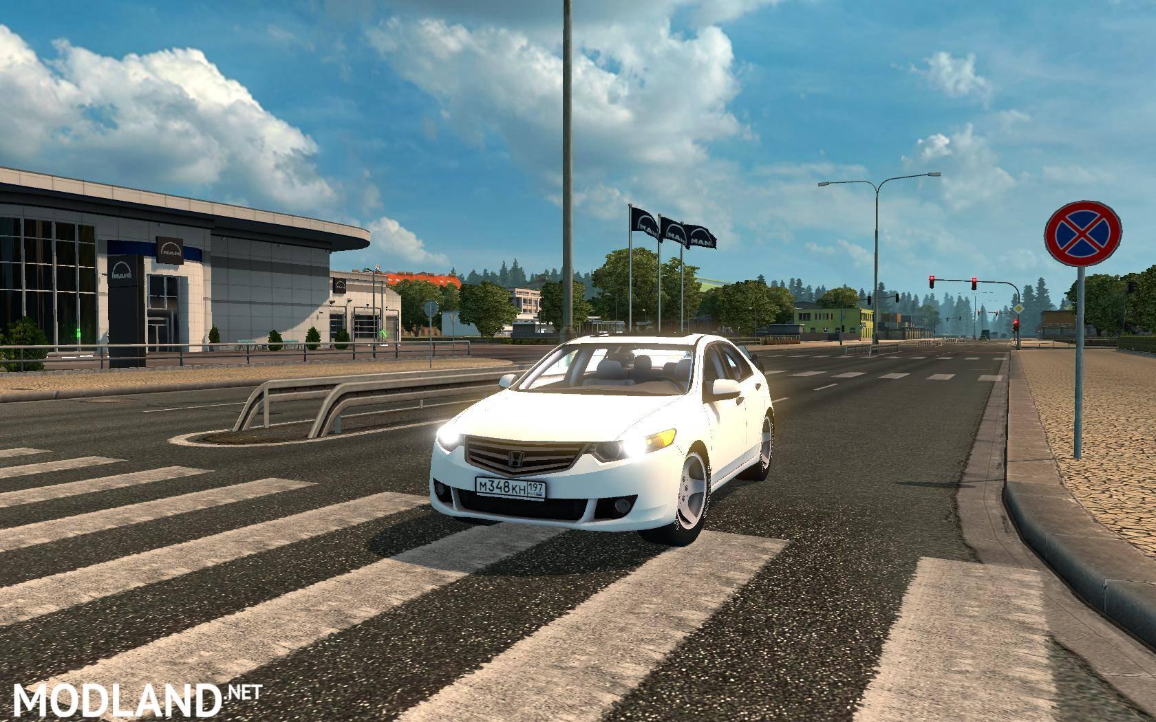 Honda Accord mod for ETS 2