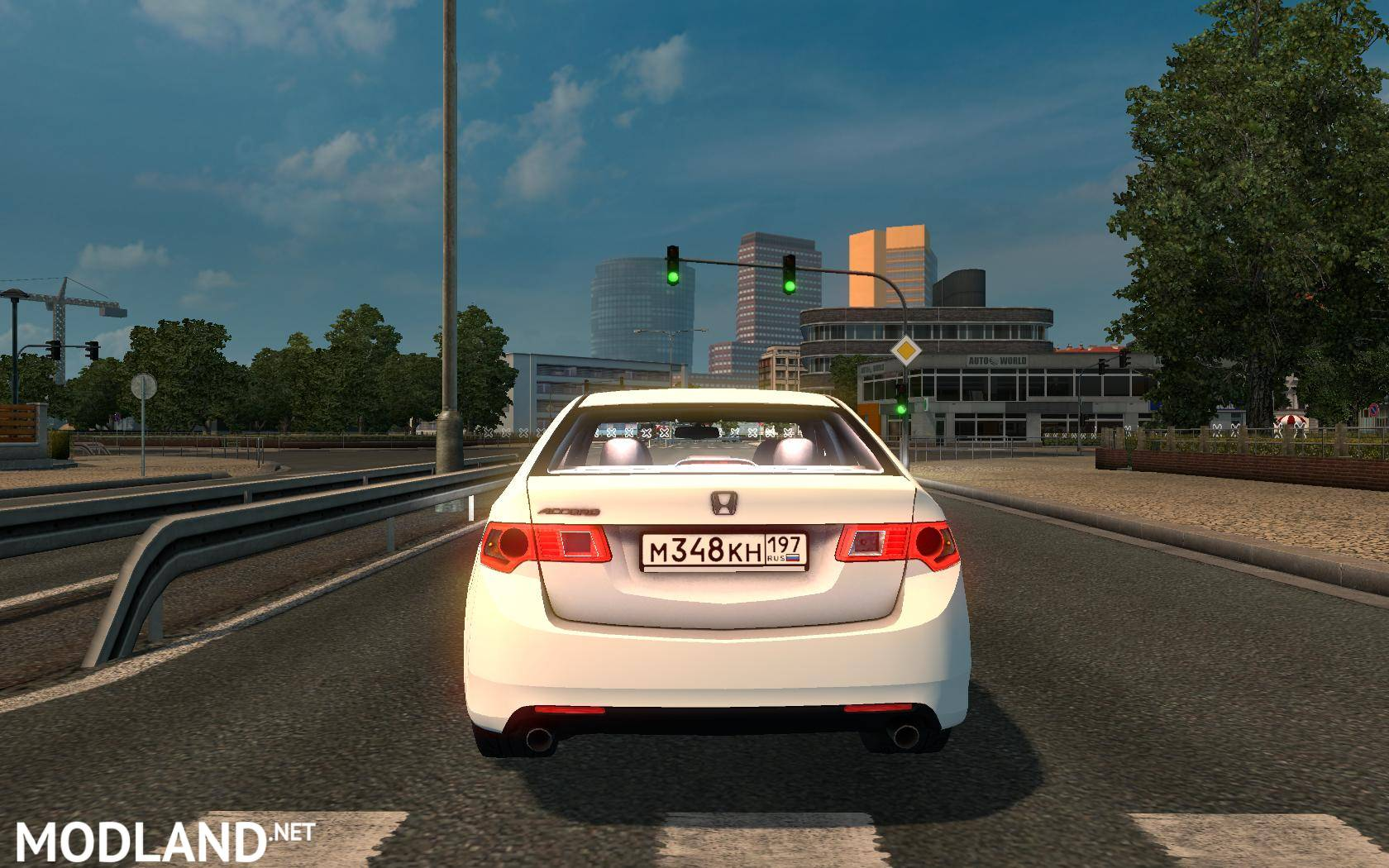 Honda Accord mod for ETS 2