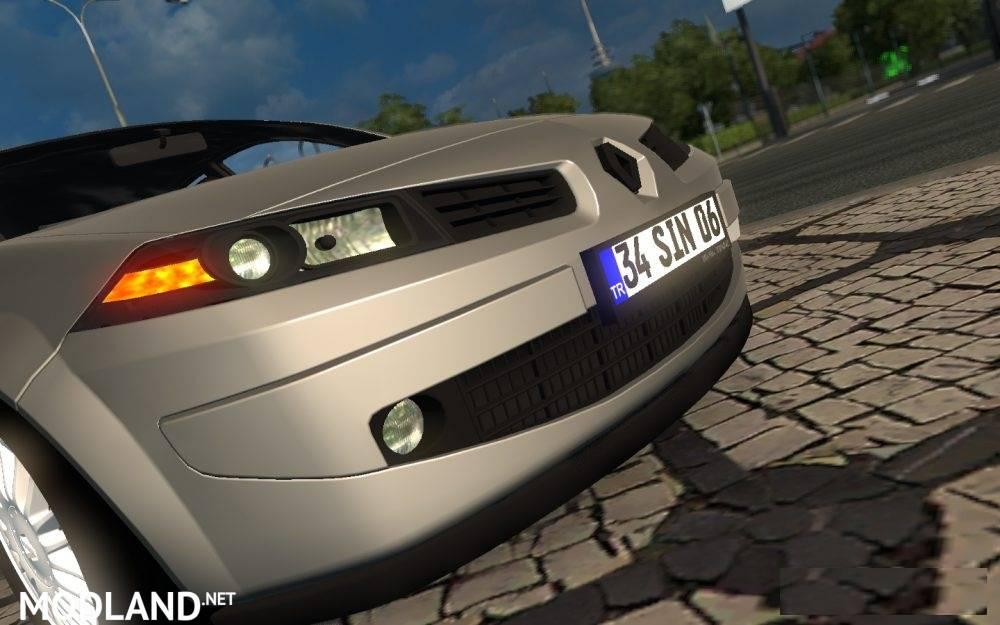 Renault Megane 2 Sedan Mod For Ets 2