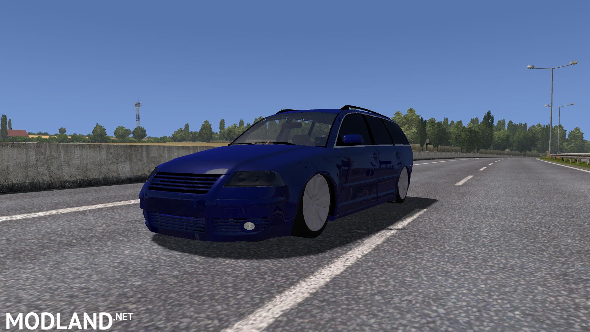 volkswagen passat b5 facelift v2 mod for ets 2