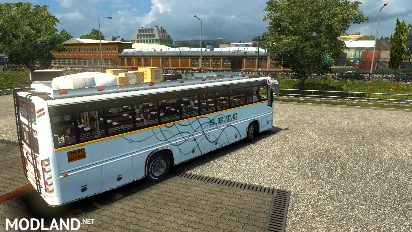 SETC TamilNadu New bus Mod Maruti V2 bus mod for ETS 2