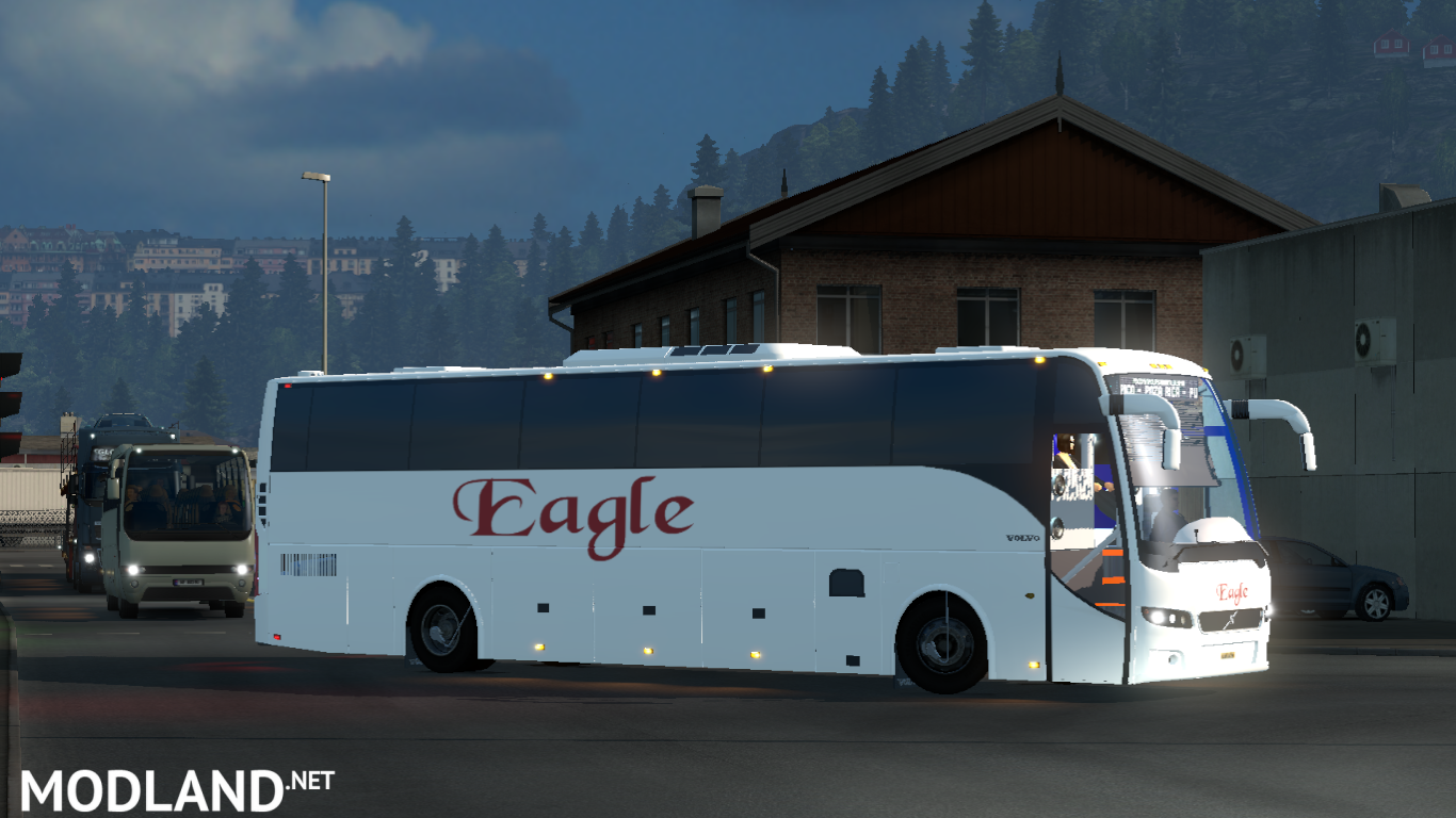 Volvo bus mod with Indian Volvo B7R,B9R,B11R + passengers