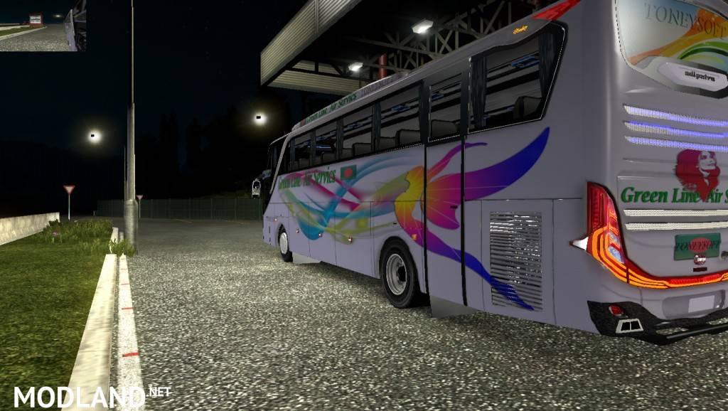Jet3 Bus Bd skin+bus greenline Hanif Shyamoly Bd bus skin or HD