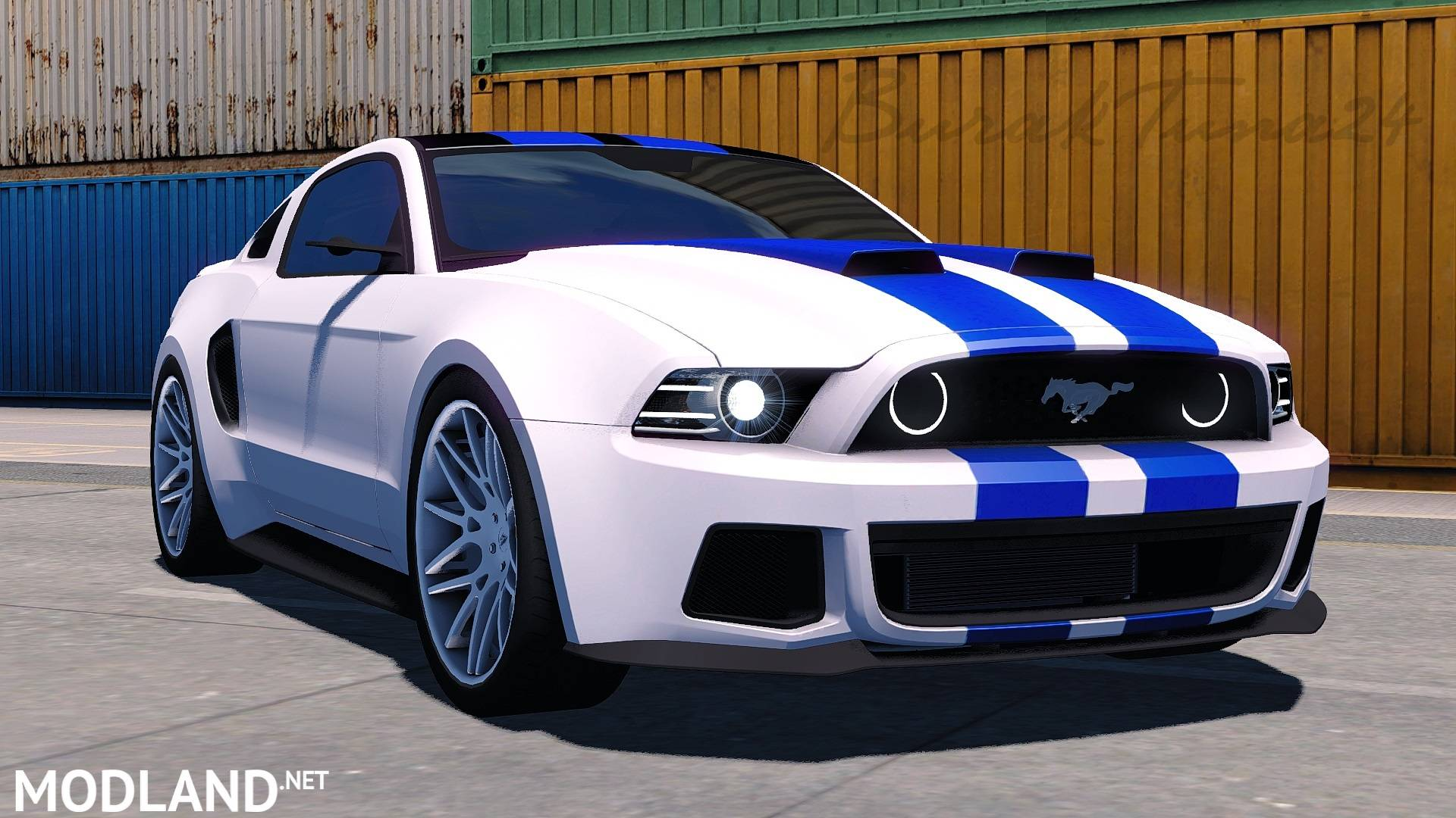 need for speed ford mustang by buraktuna24 mod for ets 2. Black Bedroom Furniture Sets. Home Design Ideas