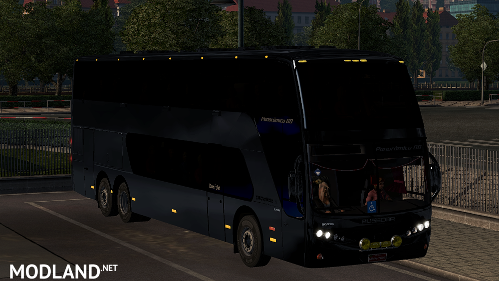 Dealer Fix For Busscar Panaromico Dd 6x2 2006 Mod For Ets 2