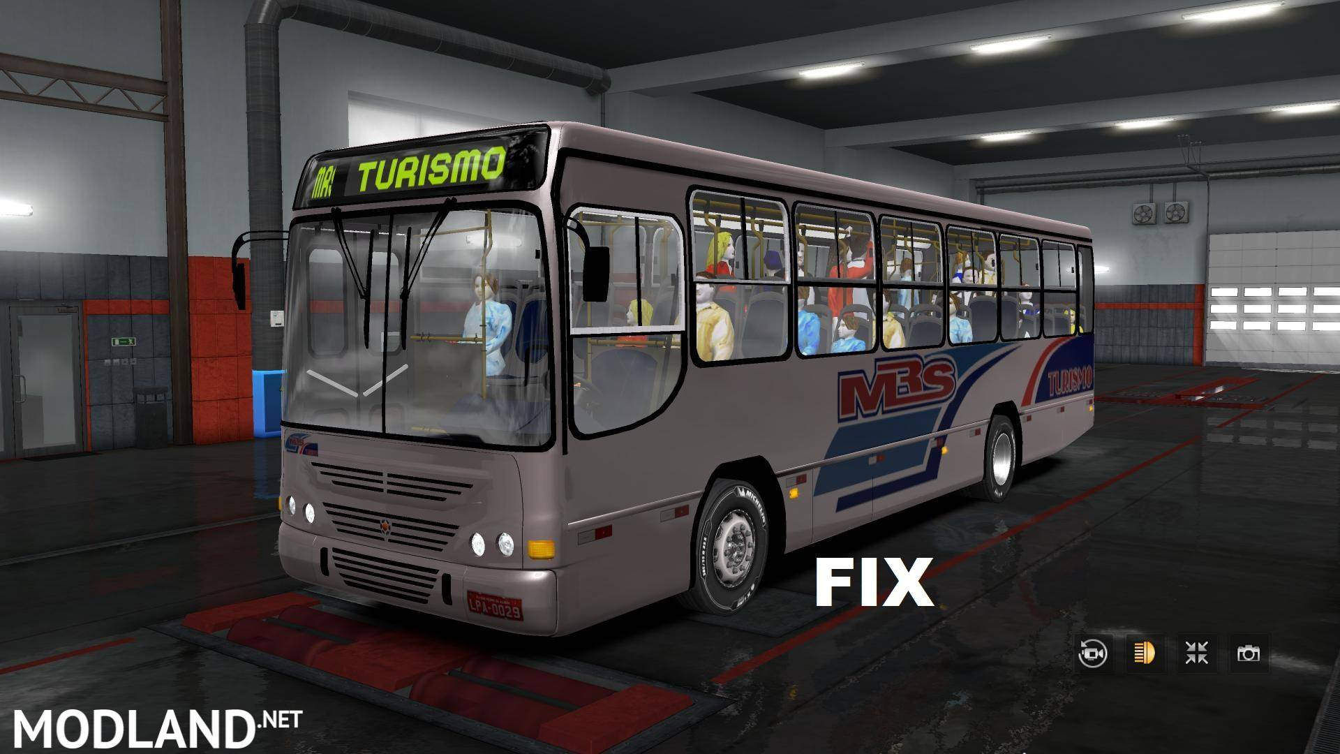 Marcopolo Torino GVI Bus + Fix (1.28, -1.32) mod for ETS 2
