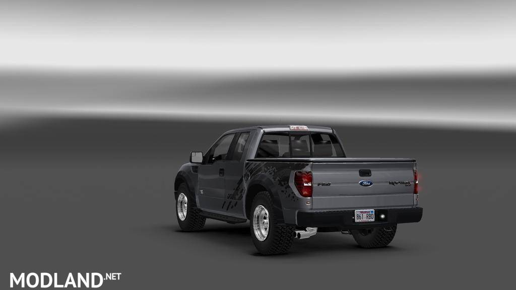 Ford F150 Svt Raptor V1 1 2 Mod For Ets 2