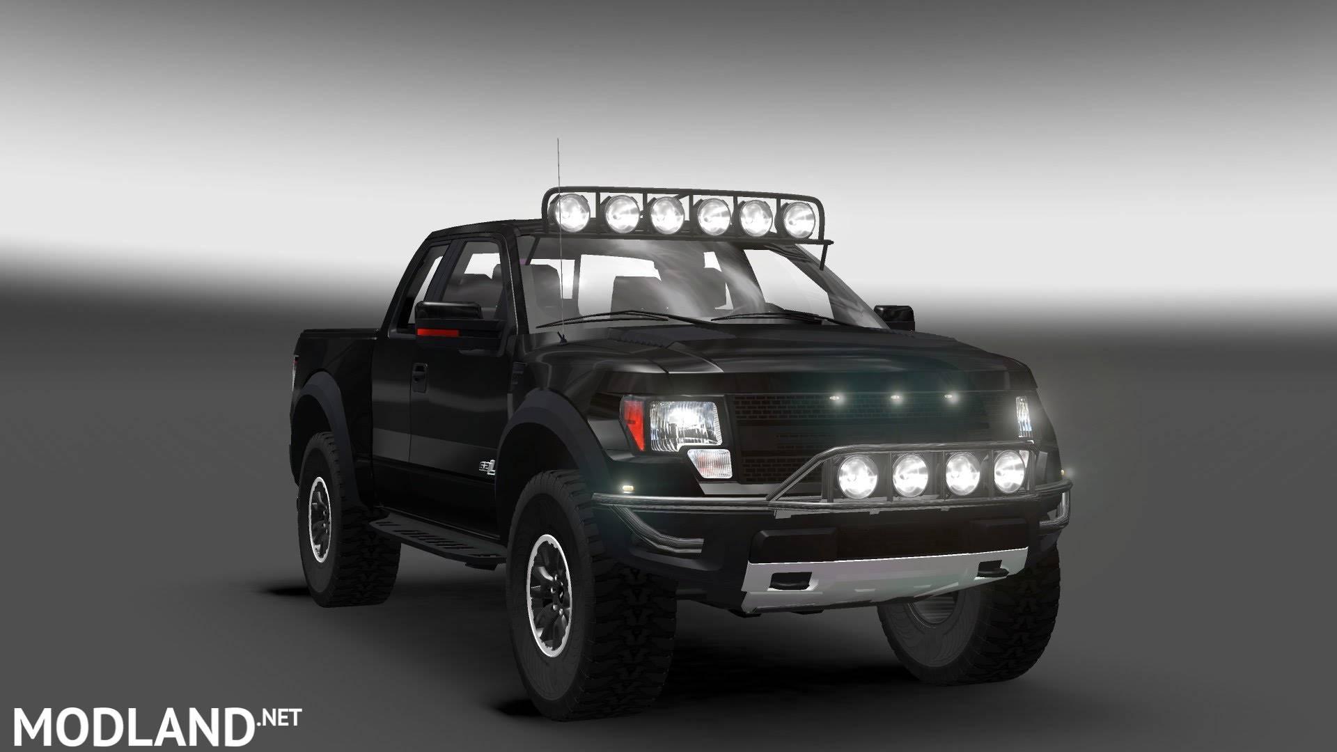 Ford F150 Raptor Svt Mod For Ets 2