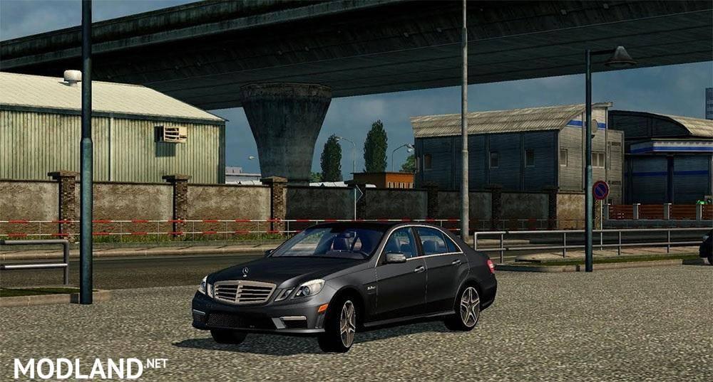 Mercedes E63 AMG + Interior
