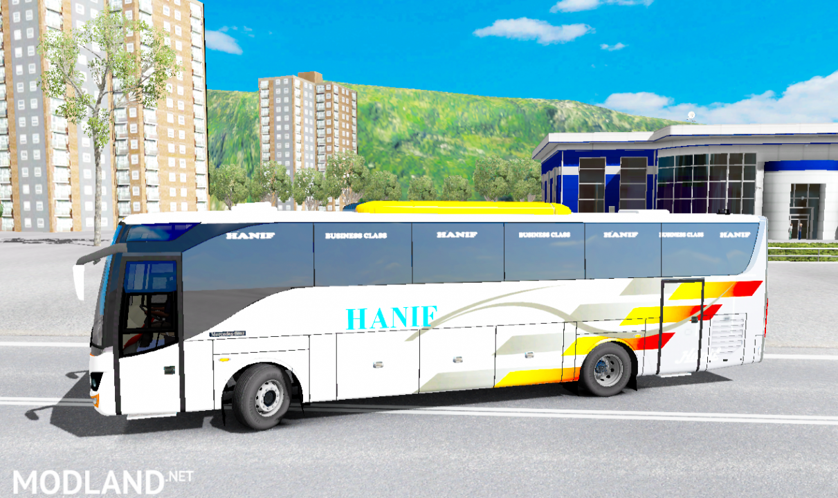 Iveco Hanif Bus Mod v 1.0 For ETS2 1.31.x