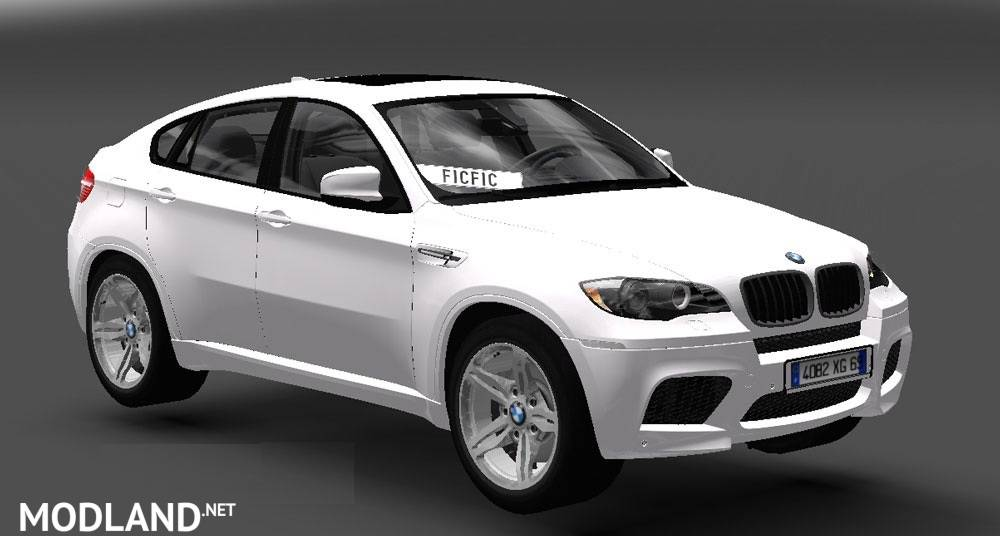 BMW X6M + Trailer