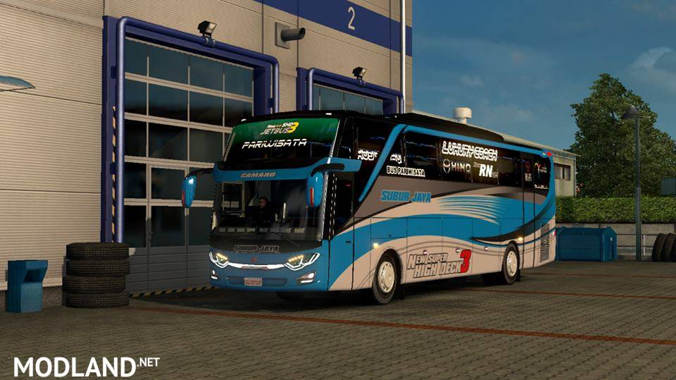 Mod Bus Jetbus 3 SHD by Rindray Free Support