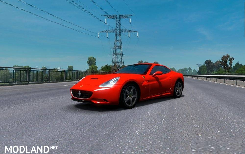 Ferrari California edited