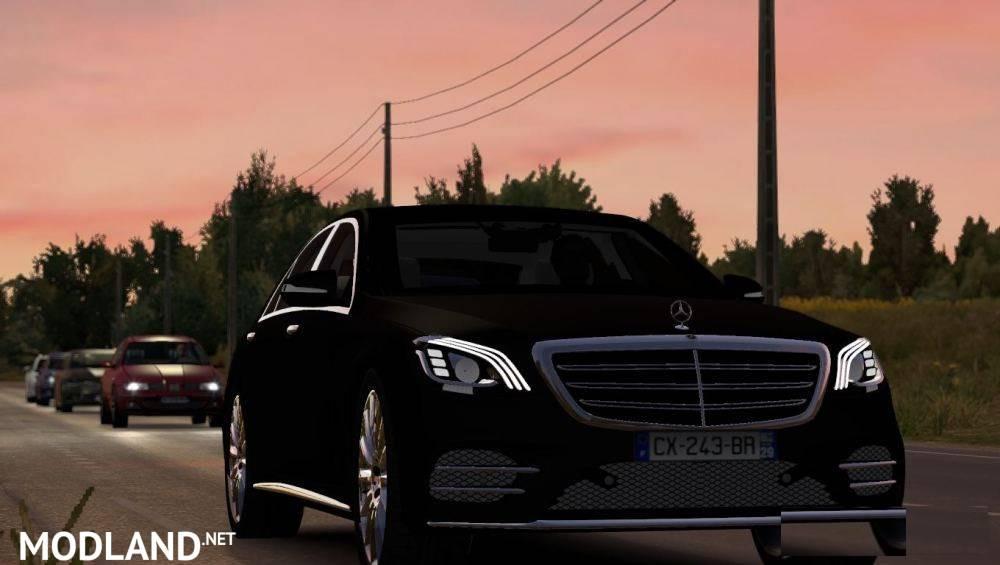 Mercedes Benz S400d 4matic 2019 V1 1.35 & up