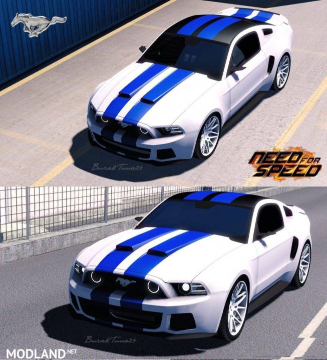 Need For Speed Ford Mustang By BurakTuna24 1.31 fix