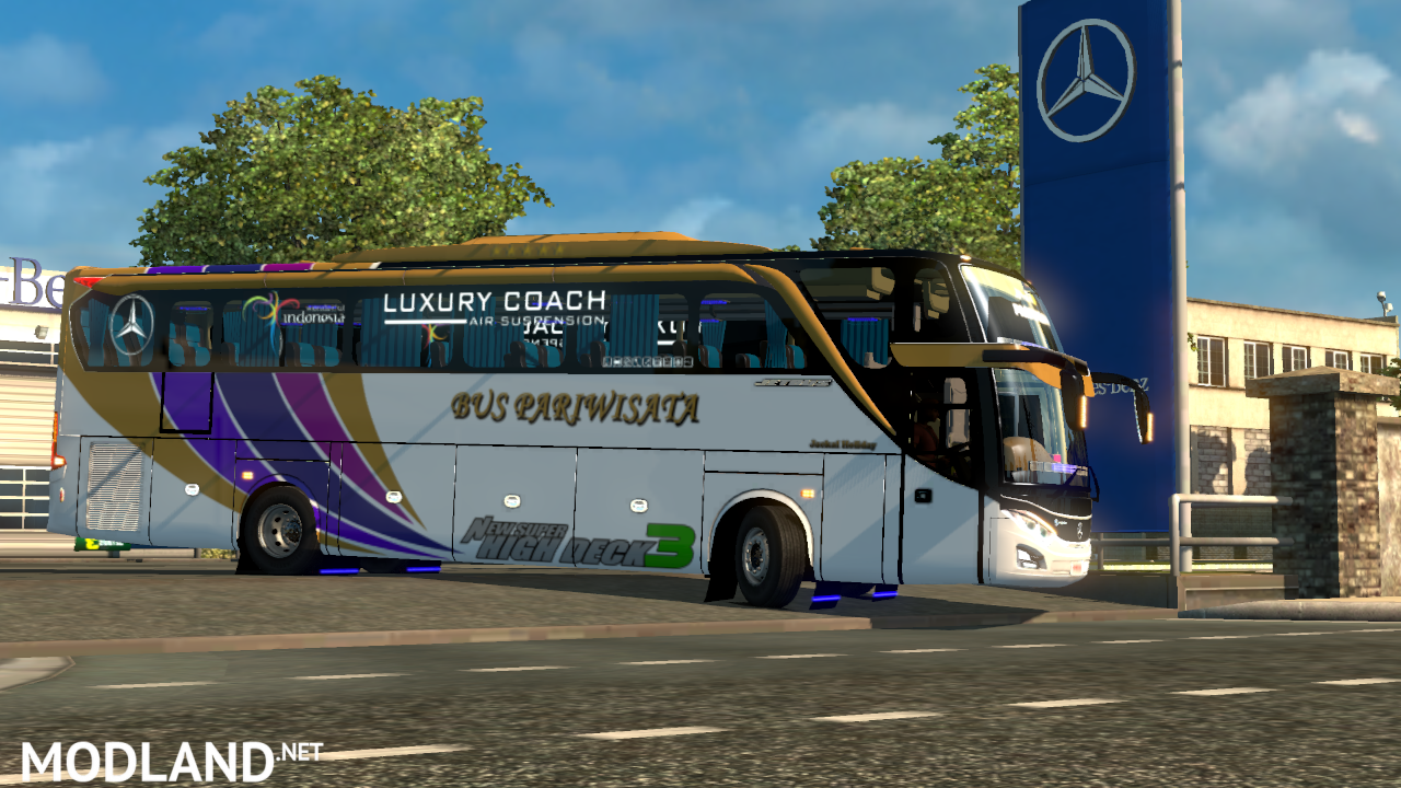 Mod Bus Indonesia Jetbus 3 HDD by FPS Support V1.23-