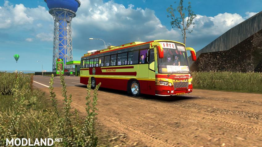 KSRTC Skin for Maruti V2 bus