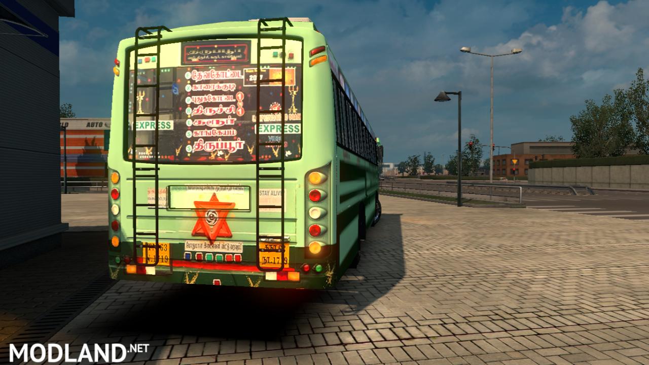 TNSTC Tirupur bus with HD Reworked PaintJob