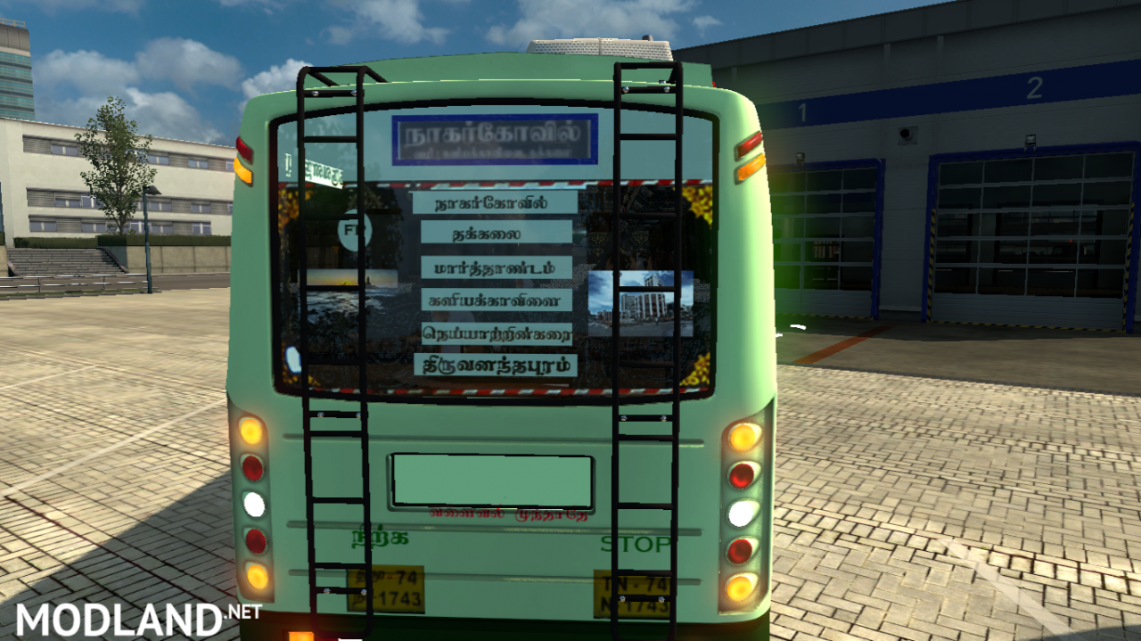 TNSTC Trivandrum to Nagercoil bus mod