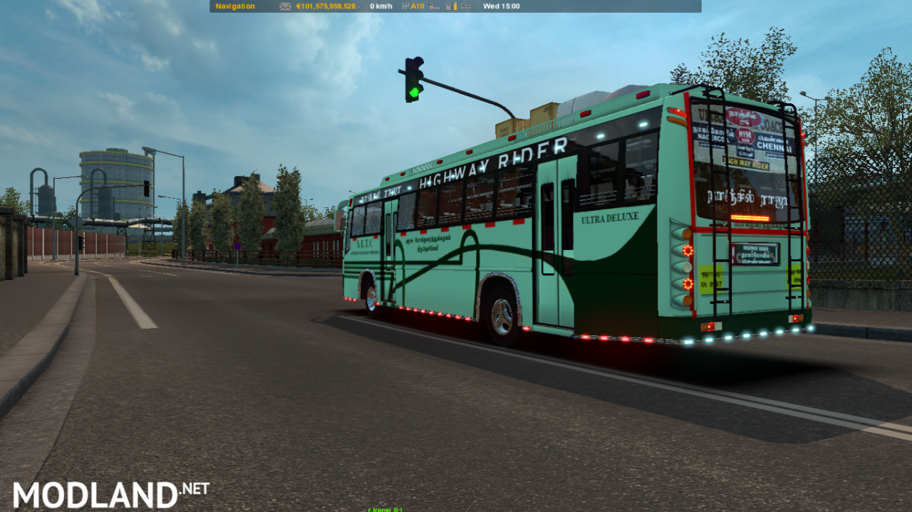 Indian bus Nanjil Raja ( TNSTC bus mod)
