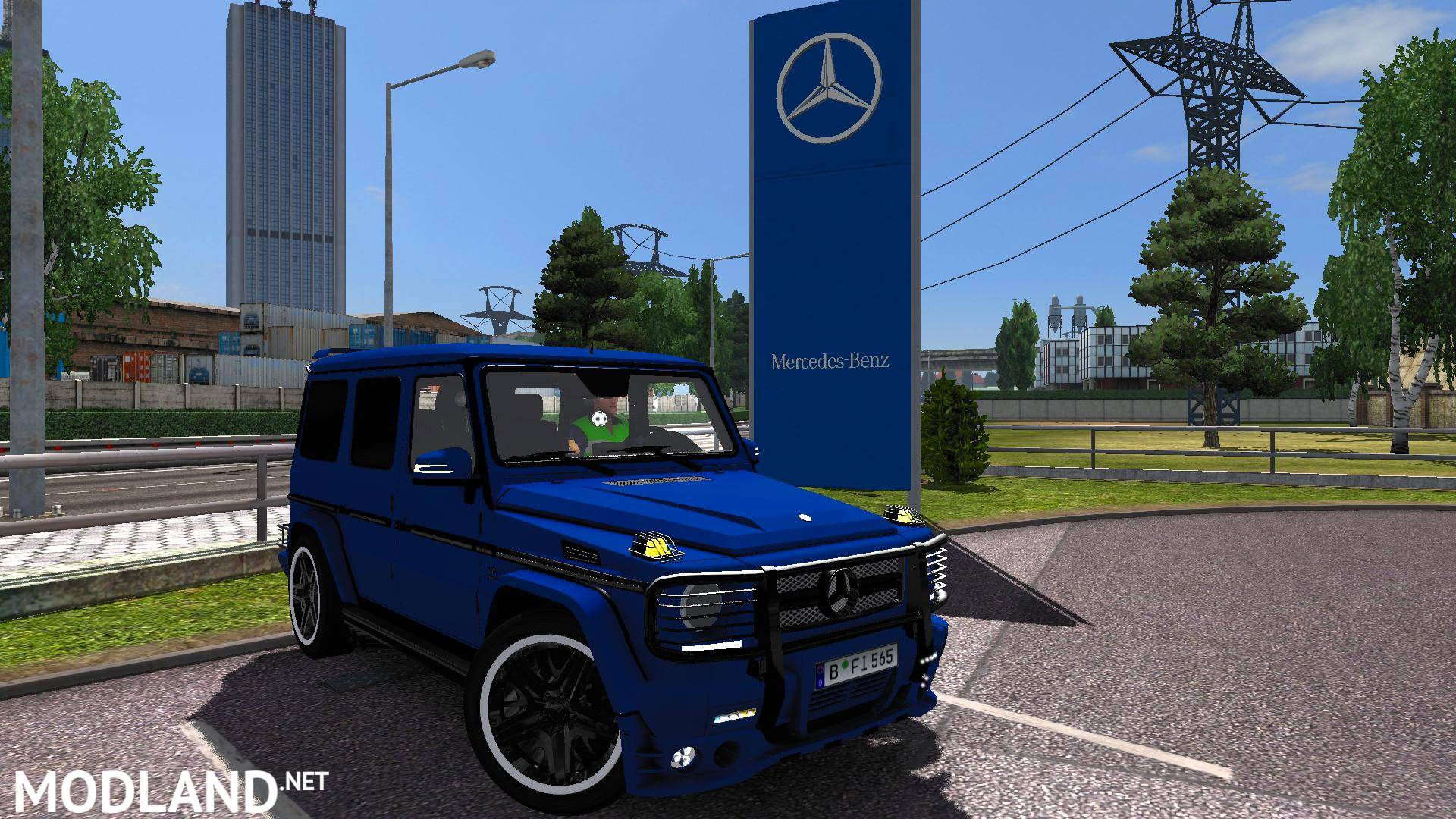 mercedes-benz g65 amg mod for ets 2