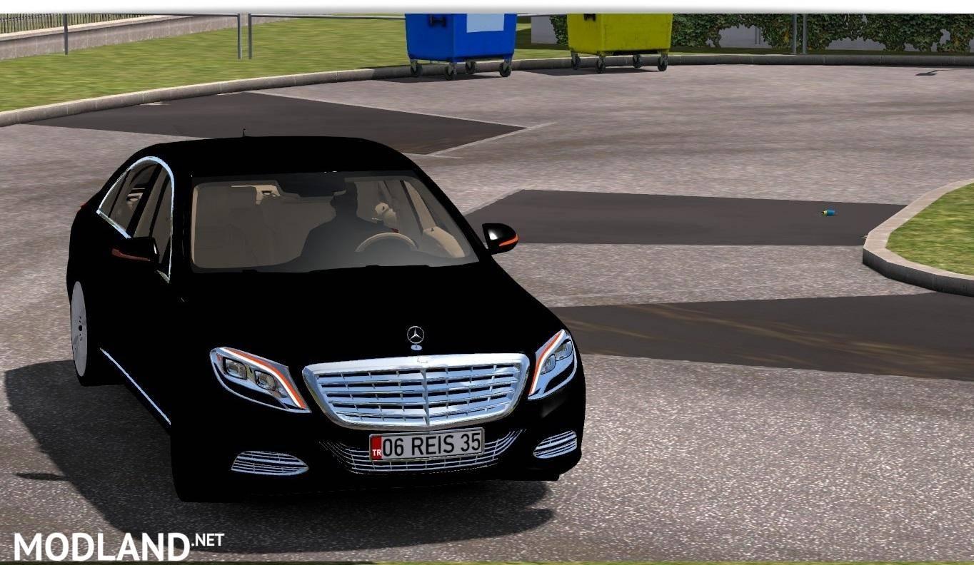 Mercedes benz s500 2016 v 1 0 mod for ets 2 for Mercedes benz euro