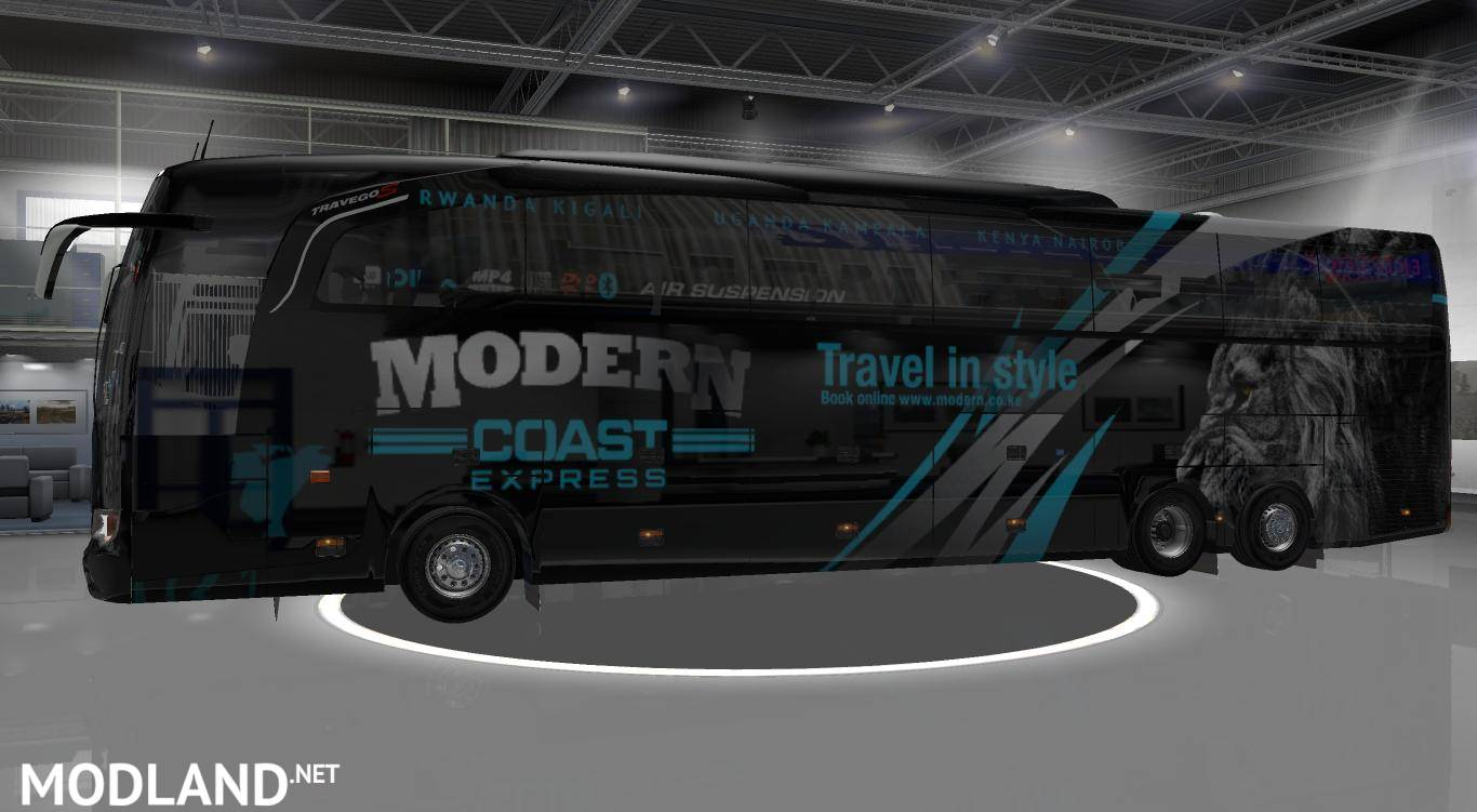 Mercedes Benz Travego Special 15-17 Paket mod for ETS 2