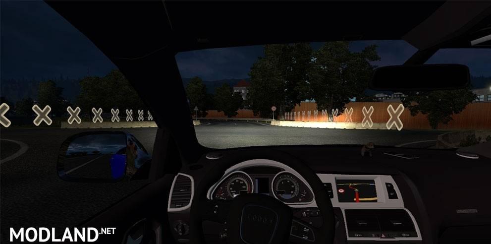 Audi Q7 Trailer mod for ETS 2