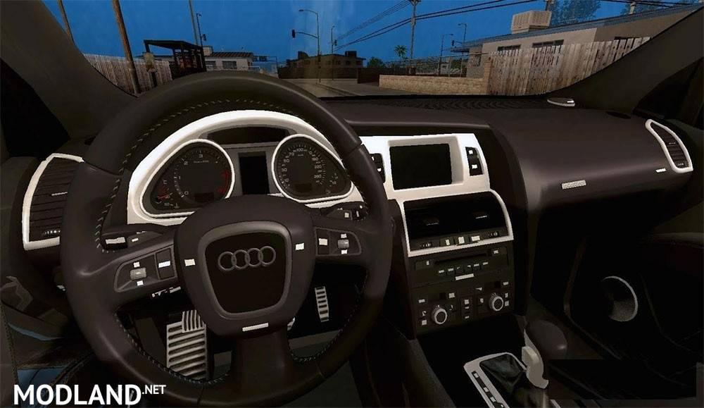 Audi Q7 2007 EDIT by BRKTN24 mod for ETS 2